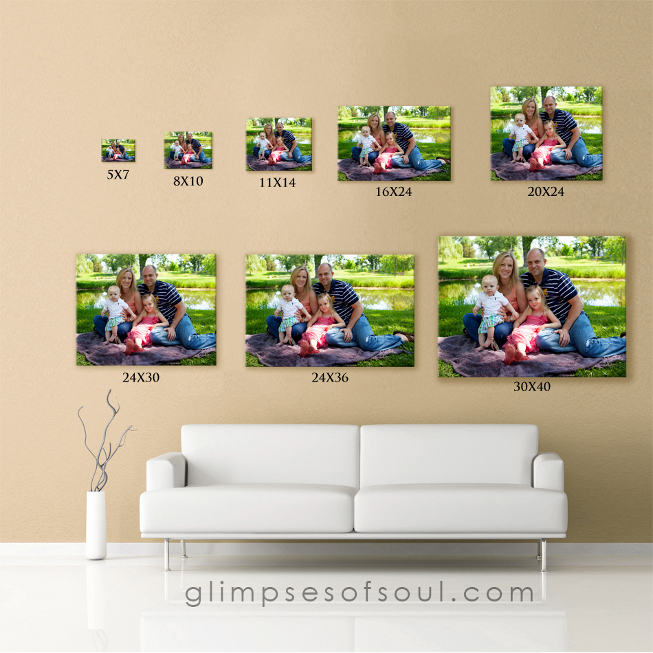 Wall display sizes minneapolis st paul photographer for 11x14 table top frame