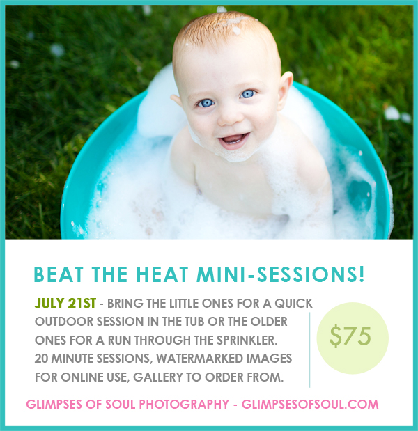 Summer Mini Sessions in St. Paul