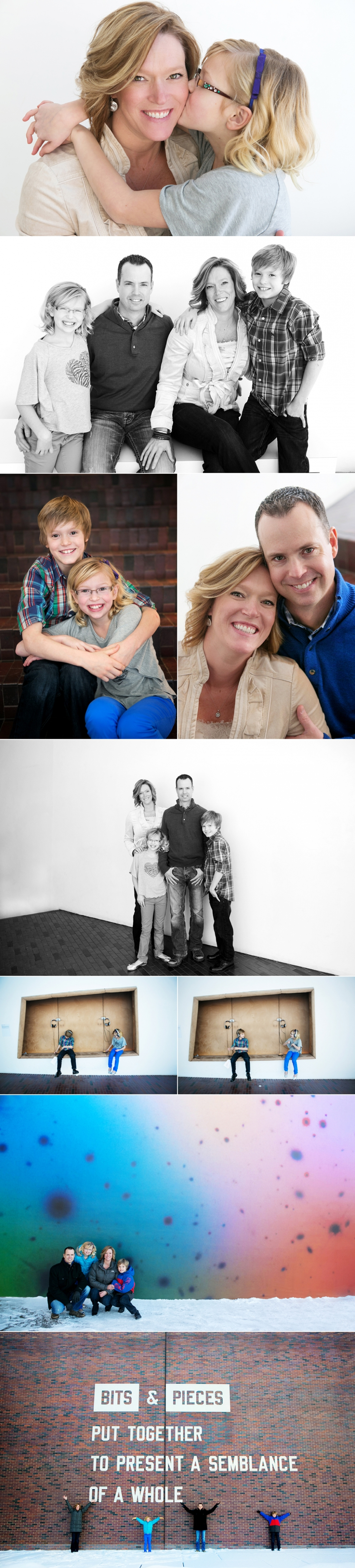 family photos at the walker art center