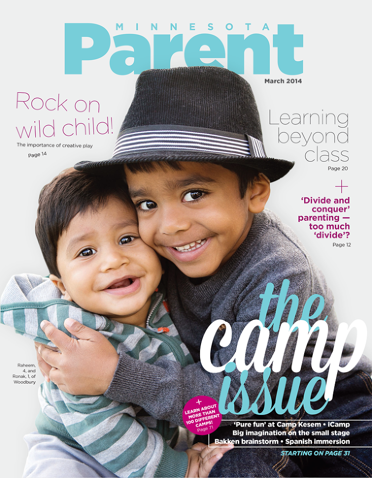 mn parent magazine cover by glimpses of soul photography