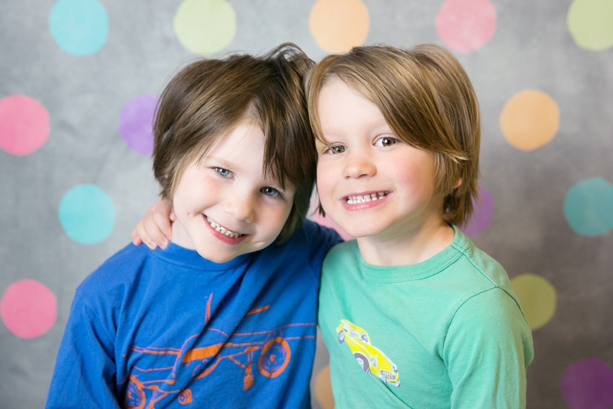 twin boy preschool picture