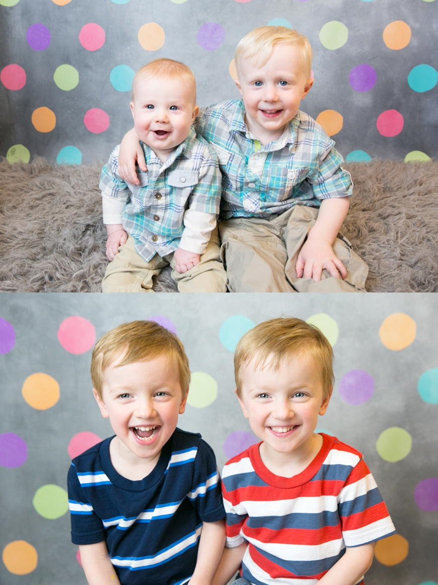 sibling preschool portraits