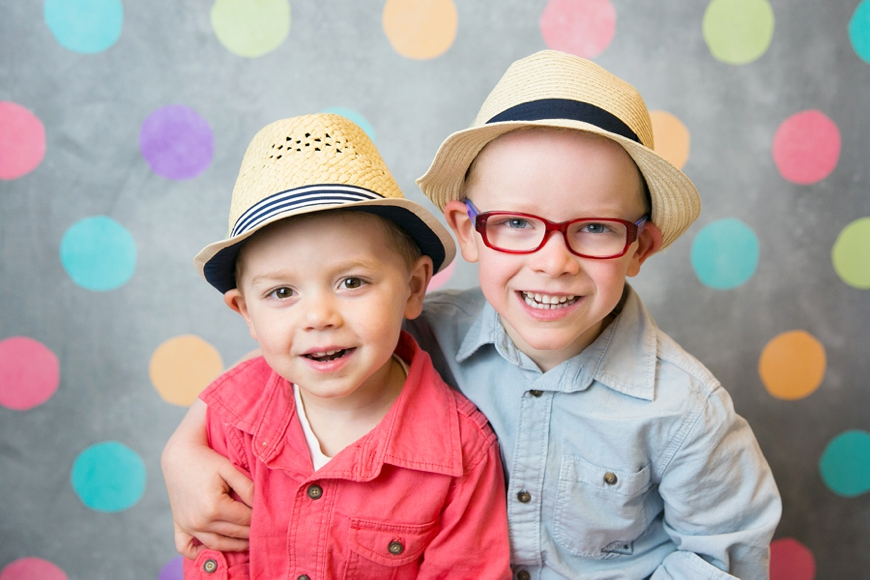 brothers in hats