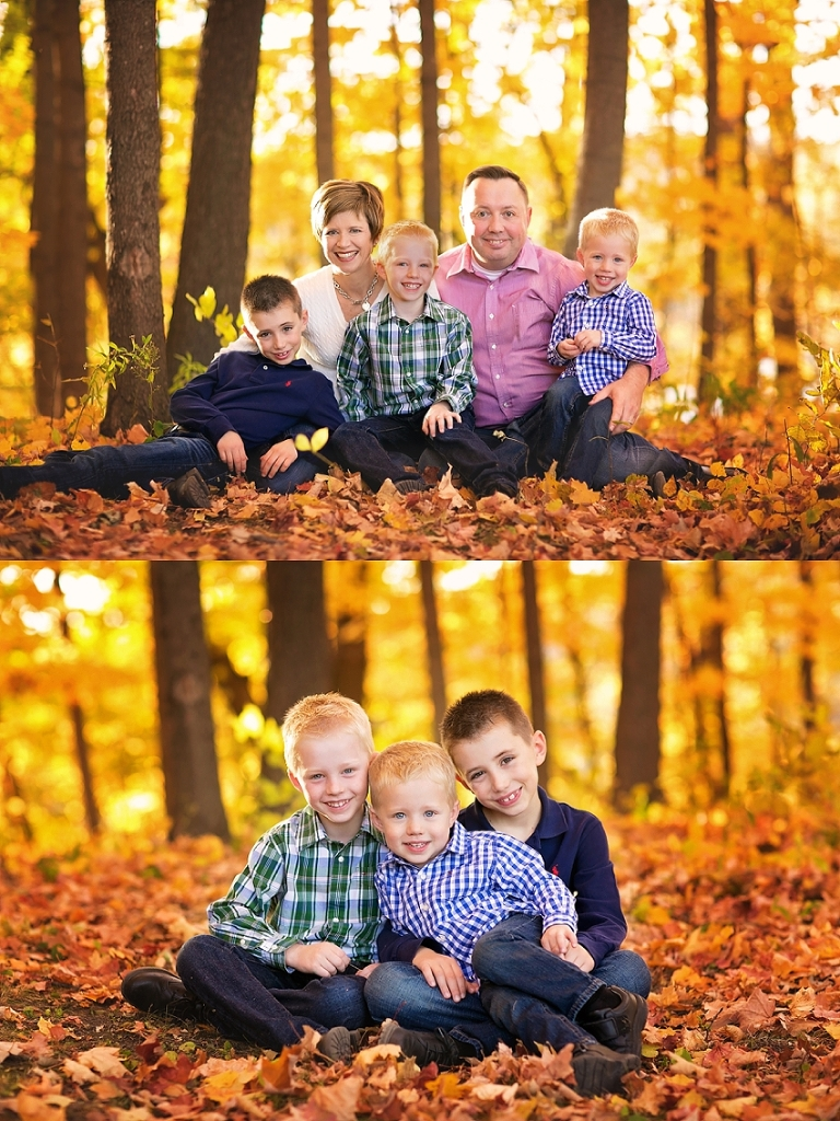 family photos in amazing fall colors glimpses of soul photography