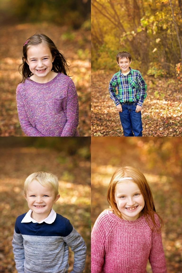 fall children portraits in st paul