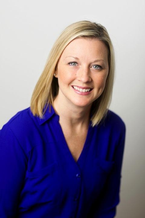 female headshot with white background