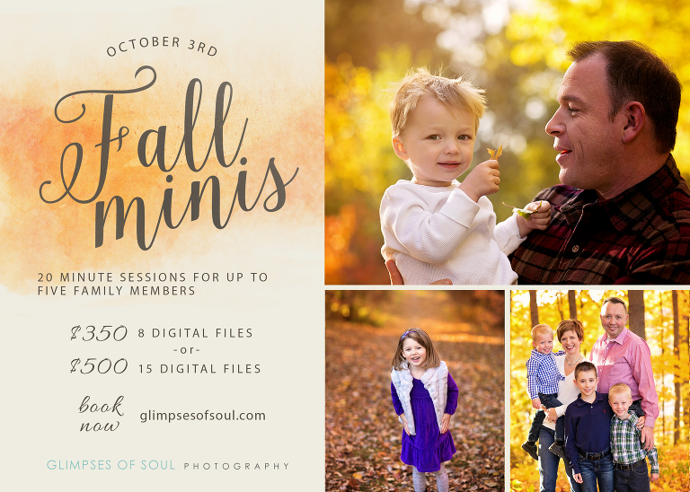 fall family photos in minnesota